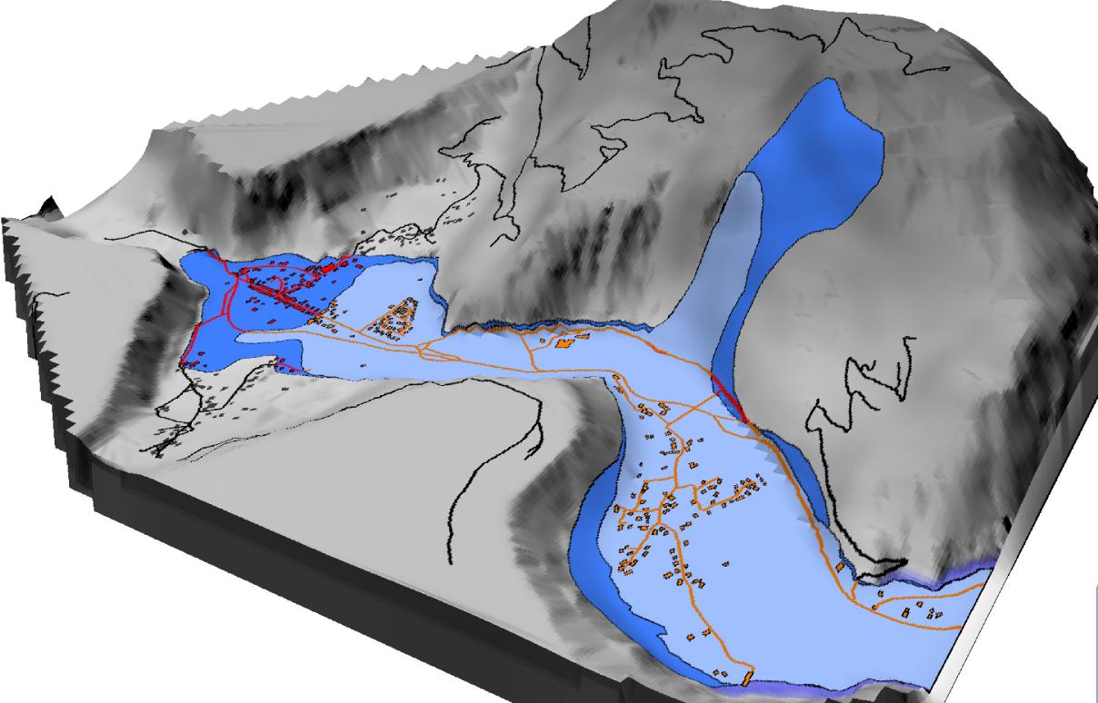 MNT et Cartographie des zones à risques